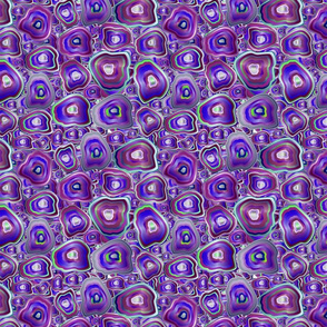 agate mosaic in violet