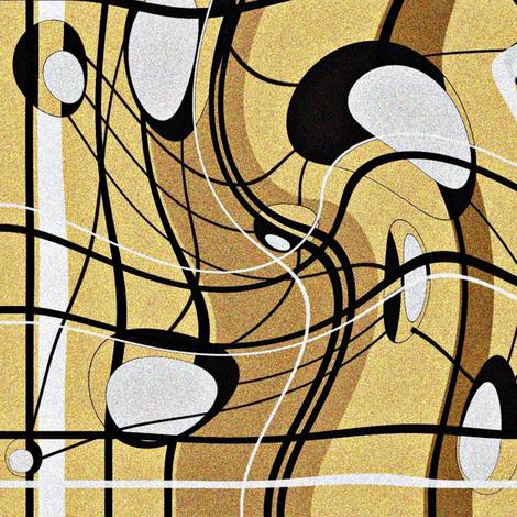 Web1-ed fabric by retroretro on Spoonflower - custom fabric