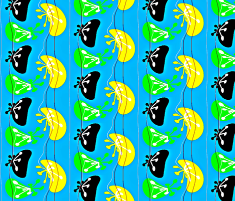 spiders-ed fabric by retroretro on Spoonflower - custom fabric