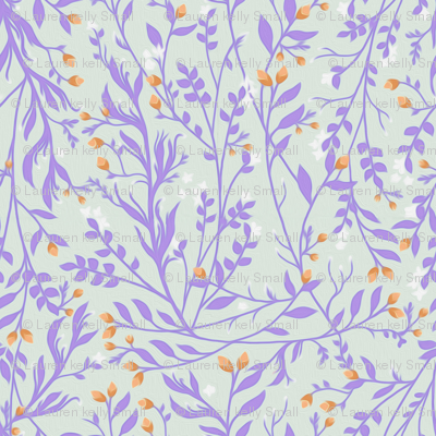 Lavender Vine and Orange Blossom