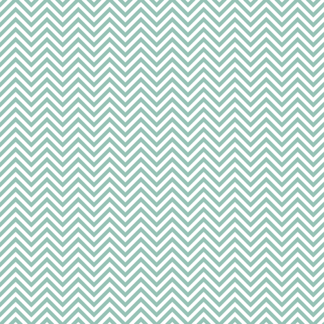 chevron pinstripes faded teal and white fabric by misstiina on Spoonflower - custom fabric
