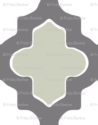 Moroccan Dual Gray