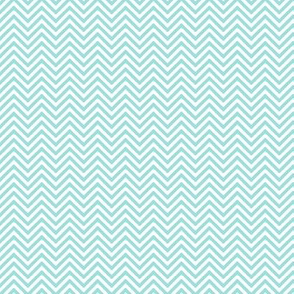 chevron pinstripes light teal
