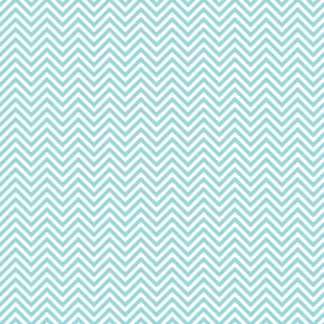 chevron pinstripes teal and white fabric by misstiina on Spoonflower - custom fabric