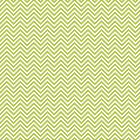 chevron pinstripes lime green and white