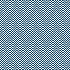 chevron pinstripes navy blue and white