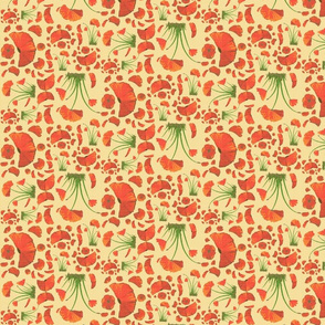 poppy ditsy 2 linen
