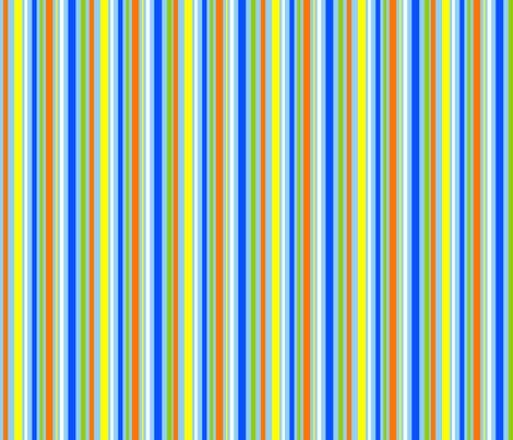 WHAT PLANET ARE YOU FROM? stripes fabric by bzbdesigner on Spoonflower - custom fabric