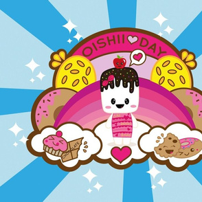 Marshmallow Oishii Day