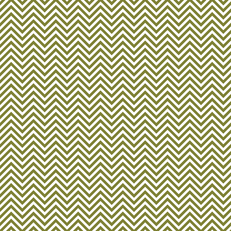 chevron pinstripes olive green and white fabric by misstiina on Spoonflower - custom fabric