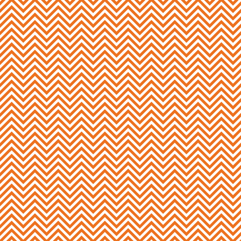 chevron pinstripes orange and white fabric by misstiina on Spoonflower - custom fabric