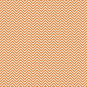 chevron pinstripes orange and white