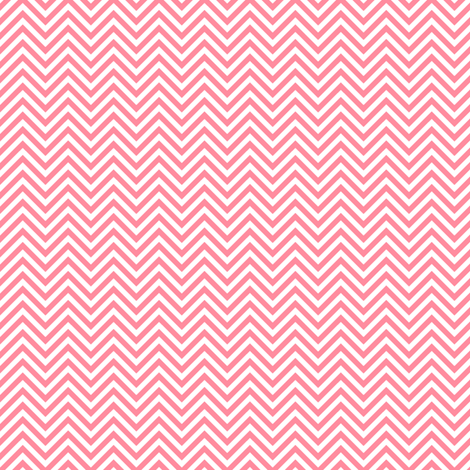 chevron pinstripes pretty pink and white fabric by misstiina on Spoonflower - custom fabric
