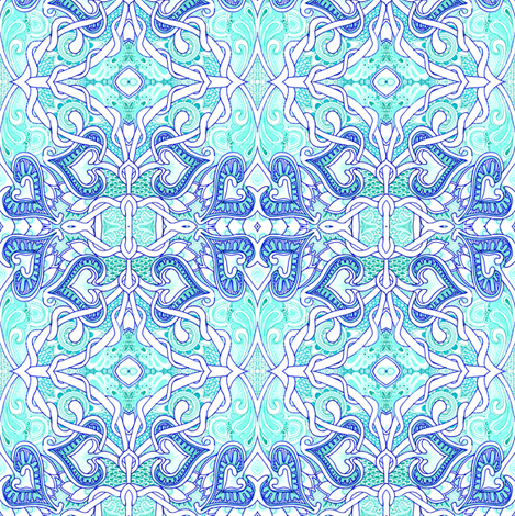 The Tangled Web We Weave fabric by edsel2084 on Spoonflower - custom fabric