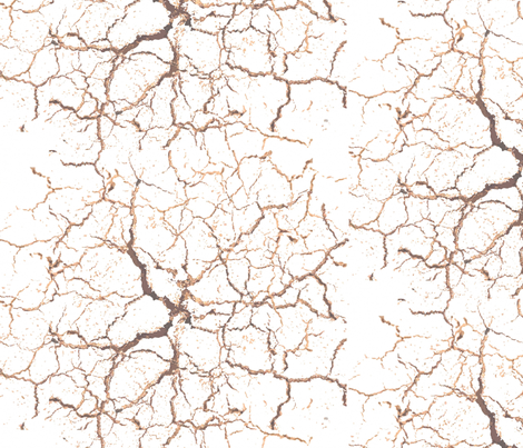 cracks_in_the_earth fabric by bosun on Spoonflower - custom fabric