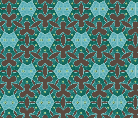 Algal swamp fabric by bippidiiboppidii on Spoonflower - custom fabric