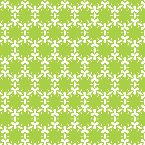 Blooming algae fabric by bippidiiboppidii on Spoonflower - custom fabric