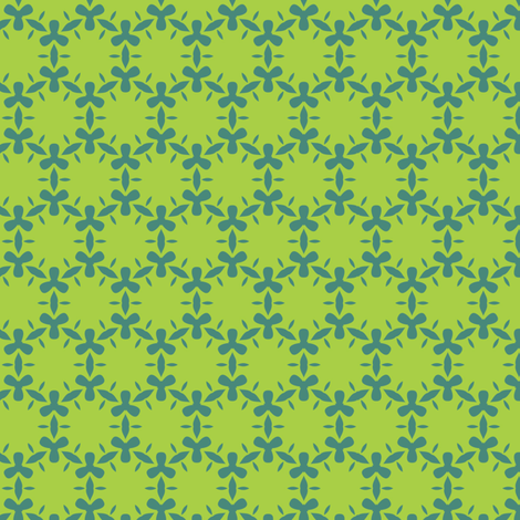 ditzy algae fabric by bippidiiboppidii on Spoonflower - custom fabric