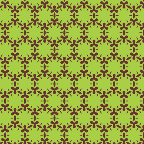 blooming algae (swamp) fabric by bippidiiboppidii on Spoonflower - custom fabric