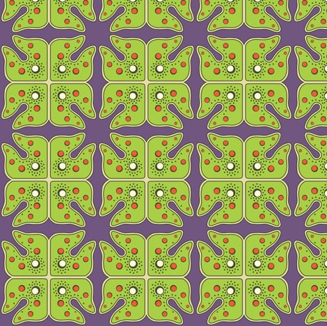 monster algae fabric by bippidiiboppidii on Spoonflower - custom fabric