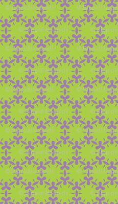 Lavender and lime algae