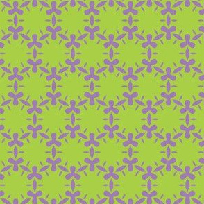 Lavender and lime algae