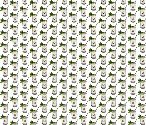 Derby Juleps fabric by ragan on Spoonflower - custom fabric