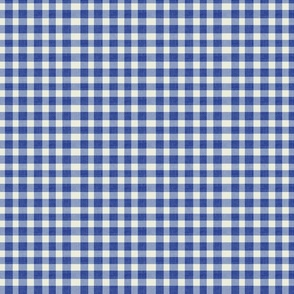Le Navy Gingham