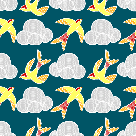 Soar 2 fabric by mandipidy on Spoonflower - custom fabric