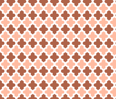 Moroccan 2-Tone fabric by fridabarlow on Spoonflower - custom fabric