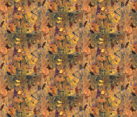 life is a buzz-ed fabric by juliannjones on Spoonflower - custom fabric