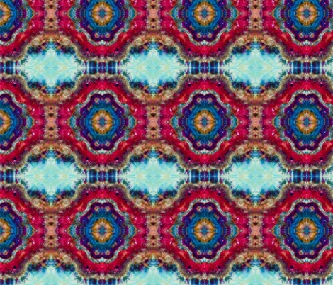 Shibori Mandala fabric by walkwithmagistudio on Spoonflower - custom fabric