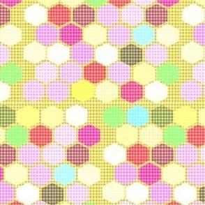 Vaguely Gingham Honeycomb