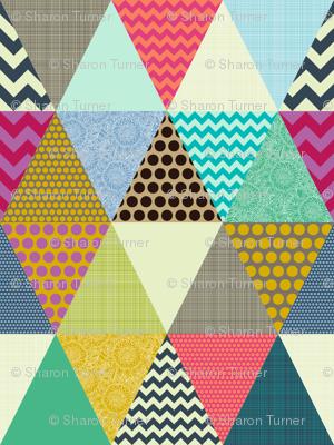 New York Beauty triangles