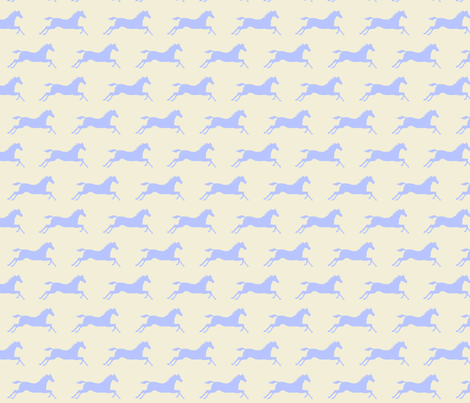Primitive Pony fabric by ragan on Spoonflower - custom fabric
