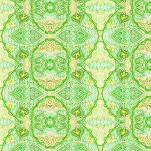 Green Hearts Victorienne