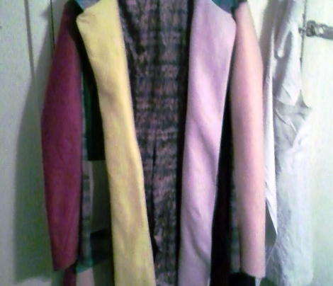 6th Doctor's Coat Lining