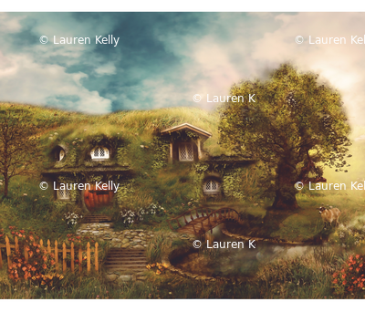 THE SHIRE by Ginger Kelly