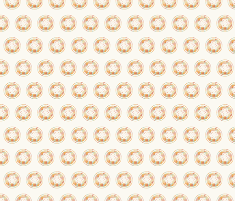 Raro Fabrics Snowflake fabric by rarofabrics on Spoonflower - custom fabric