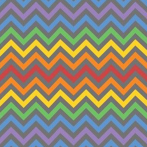 Rainbow Robot Chevron