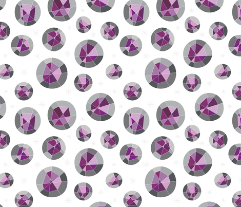 Geodes fabric by jenimp on Spoonflower - custom fabric