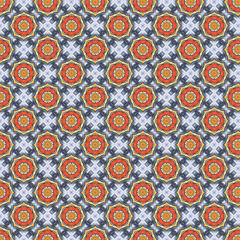 Pariku's Chakram fabric by siya on Spoonflower - custom fabric