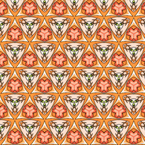 Pariku's Shields fabric by siya on Spoonflower - custom fabric