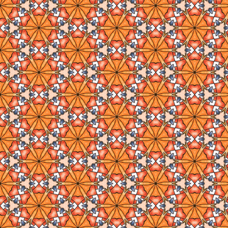 Pariku's Superstar fabric by siya on Spoonflower - custom fabric