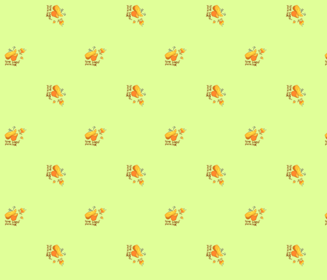 just sweet potato fabric by mojiarts on Spoonflower - custom fabric