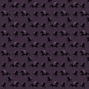 Carriage Trade Faster - Eventer Scatter - Aubergine