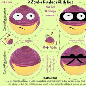 zombie rutabagas plush toy 2