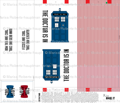Tardis Tote Bag 11