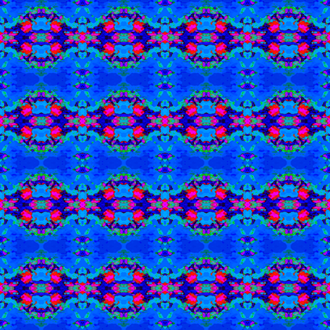 Blue Raspberry fabric by krussimages on Spoonflower - custom fabric