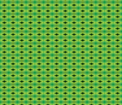 black eye in green fabric by walkwithmagistudio on Spoonflower - custom fabric